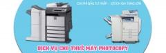 Cho thuê máy photocopy giá rẻ tại khu công nghiệp miền Bắc
