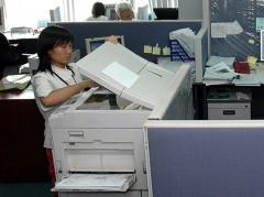 Sử dụng máy photocopy có gây ô nhiễm môi trường hay không