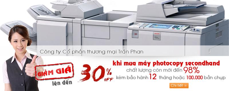 TranPhan.vn - Bán máy photocopy cũ giá rẻ nhất tại Hà Nội